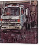 Isuzo Truck Canvas Print