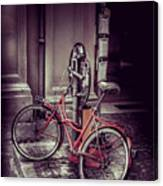 Italian Bike Canvas Print
