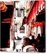 Italian Bistro - Venice Canvas Print