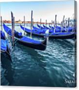 Italian Blue Canvas Print