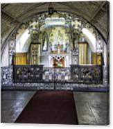 Italian Chapel Interior Canvas Print