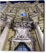 Italian Church Canvas Print
