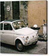 Italian Classic Commute  Canvas Print