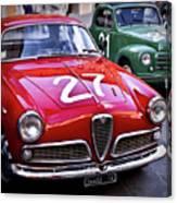 Italian Classics Alfa Romeo Canvas Print