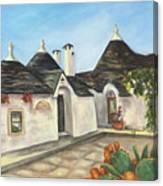 Italian Farmhouses  Canvas Print
