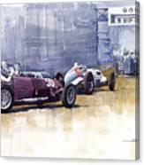 Italian Gp1937 Livorno  Canvas Print