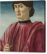 Italian Renaissance Portrait Painter Canvas Print