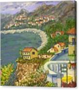 Italian View Canvas Print