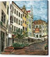 Italian Village 1 Canvas Print