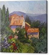 Italian Village Canvas Print