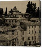 Italian Villas Canvas Print