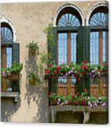 Italian Windows Canvas Print
