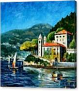 Italy - Lake Como - Villa Balbianello Canvas Print