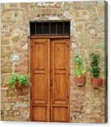Italy - Door Six Canvas Print
