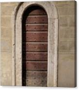 Italy - Door Ten Canvas Print