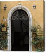 Italy - Door Thirteen Canvas Print