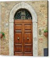 Italy - Door Twelve Canvas Print