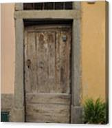Italy - Door Twenty Three Canvas Print