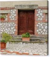 Italy - Door Twenty Two Canvas Print