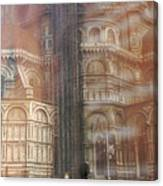 Italy, Florence, Duomo And Campanile Canvas Print
