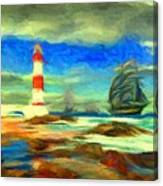 Itapua Lighthouse 1 Canvas Print