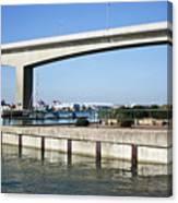 Itchen Bridge Southampton Canvas Print