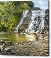 Ithaca Falls In Early Autumn Canvas Print