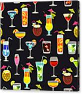Its 5  Oclock Somewhere Cocktails Canvas Print