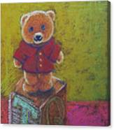 It's A Bear's World Canvas Print