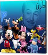 Its A Disney Thing Canvas Print