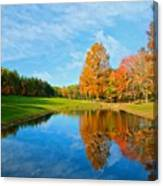 Its A Fall Thing Canvas Print