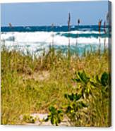 Its A Shore Bet Canvas Print