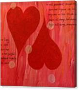 Its All About Love Canvas Print