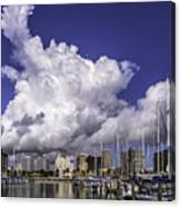 It's All About The Clouds Canvas Print