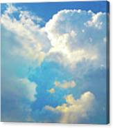 It's Clouds Illusions I Recall 2 Canvas Print