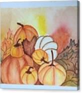 It's Pumpkin Time Canvas Print
