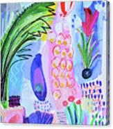 It's Raining Flowers Canvas Print