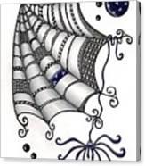 Itsy Bitsy Spider Canvas Print