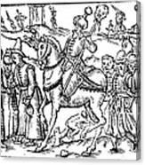 Ivan Iv Vasilevich (1530-1584) Canvas Print