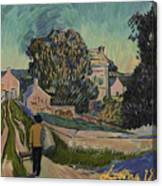 I've Decided To Retrace The Path That Vincent Took With His Easel That Day Canvas Print