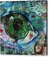 I've Got My Eye On You Canvas Print