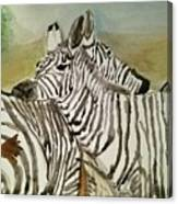 Ive Got Your Back Canvas Print