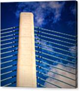 Ivory Tower At Indian River Inlet Canvas Print