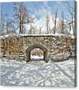 Ivy Bridge Winter Canvas Print