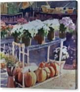 Ivy Corners Canvas Print