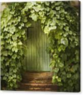 Ivy Door Canvas Print
