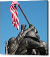 Iwo Jima 1945 - War Memorial, Cape Coral, Florida Canvas Print
