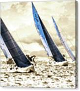 J Boats 2 Canvas Print