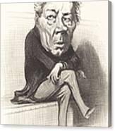 J. Marie Joseph Deville Canvas Print