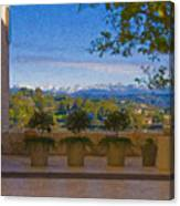 J Paul Getty Center Museum Terrace Canvas Print